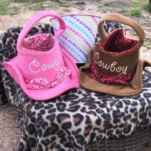 Accessories - Cowboy and cowgirl Easter baskets!!